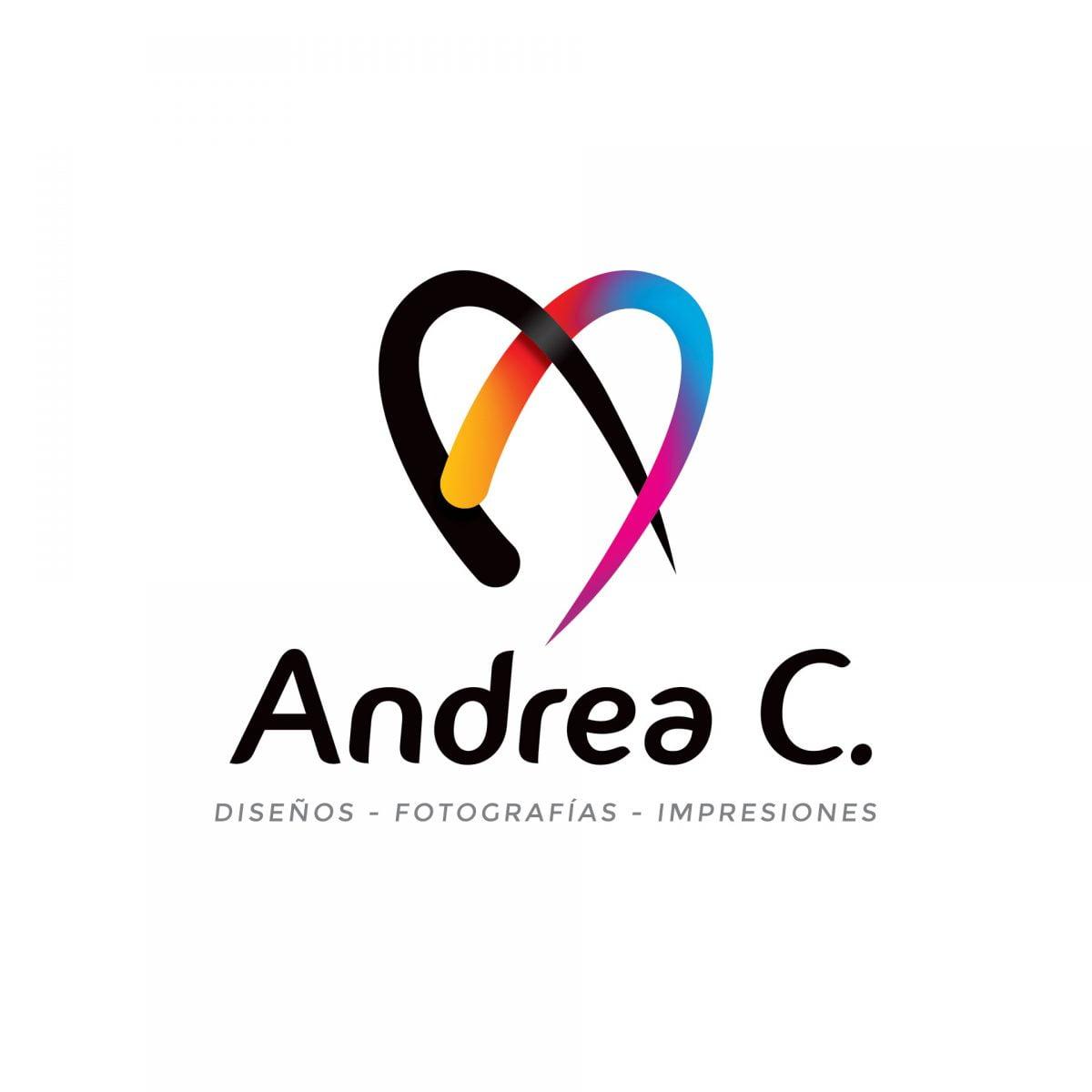 logotipo andrea c