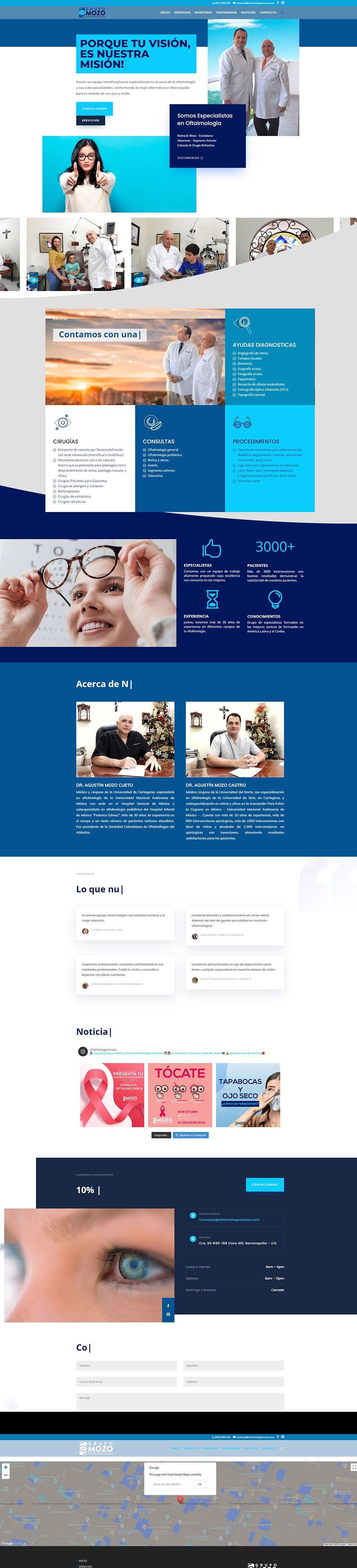 diseño profesional de paginas web