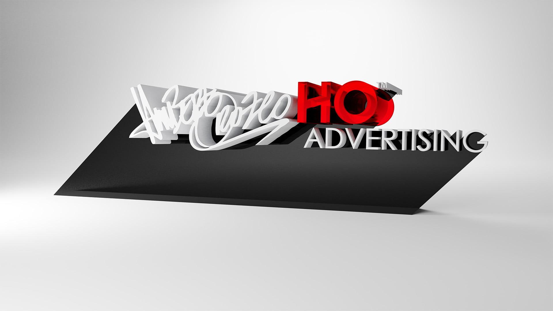 HO Advertising Logo 3D